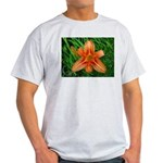 .orange daylily. Light T-Shirt