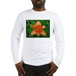 .orange daylily. Long Sleeve T-Shirt