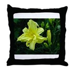 .pale yellow. Throw Pillow
