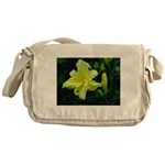 .pale yellow. Messenger Bag