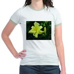 .pale yellow. Jr. Ringer T-Shirt