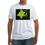 .pale yellow. Fitted T-Shirt