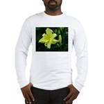 .pale yellow. Long Sleeve T-Shirt