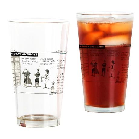 e-Discovery Superheroes Drinking Glass
