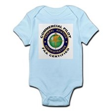 Commercial Pilot Infant Bodysuit