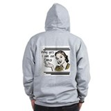 Retro Oma Zip Hoody
