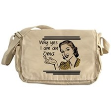 Retro Oma Messenger Bag