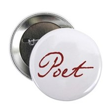 "Cute Poet 2.25"" Button (10 pack)"