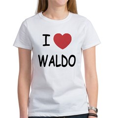 I heart waldo Women's T-Shirt