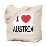 I heart austria Tote Bag