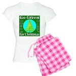 Go Green For Christmas Women's Light Pajamas