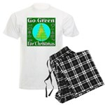 Go Green For Christmas Men's Light Pajamas