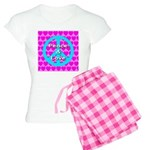 Peace Symbol Women's Light Pajamas