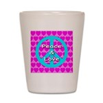 Peace Symbol Shot Glass