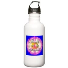 Blessed Are The Peacemakers F Water Bottle
