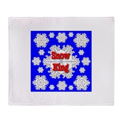 Snow King Throw Blanket
