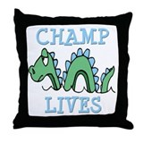 Champ Lives Throw Pillow