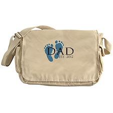 Dad Est 2012 Messenger Bag