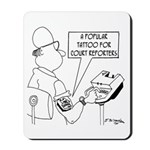 Court Reporter Tattoos Mousepad