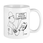 Court Reporter Tattoos Mug
