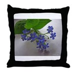 .so blue. Throw Pillow