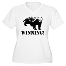 Honey Badger Winning T-Shirt