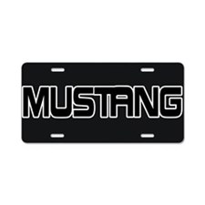 Cute Mustang horse Aluminum License Plate
