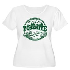 Yosemite Old Circle Green T-Shirt