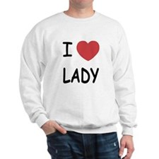 I heart lady Sweatshirt