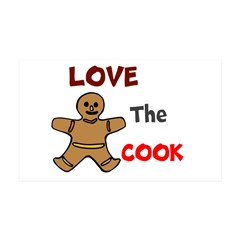 OYOOS Love the Cook design 38.5 x 24.5 Wall Peel