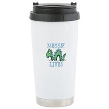 Nessie Lives Ceramic Travel Mug