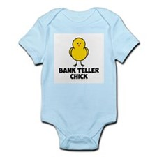 Bank Teller Chick Infant Bodysuit