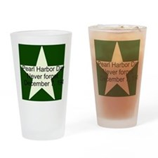 Pearl harbor day: Never forge Drinking Glass