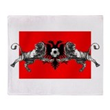 Albania Lions football Throw Blanket
