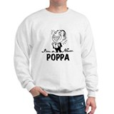 Smiling New Poppa Sweatshirt