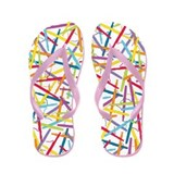 Colorful Bassoons Flip Flops