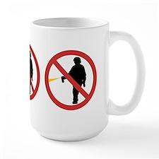 No Pepper Spray Mug
