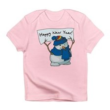 Happy New Years Snowman Infant T-Shirt