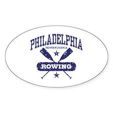 Philadelphia Rowing Decal