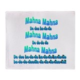 Mahna Mahna Throw Blanket