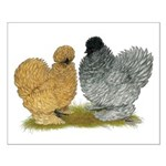 Sizzle Chickens Small Poster
