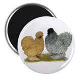"Sizzle Chickens 2.25"" Magnet (10 pack)"