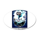 Deep Sea Diver Gear 38.5 x 24.5 Oval Wall Peel