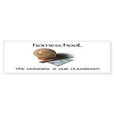 Homeschool Universe Bumper Bumper Sticker