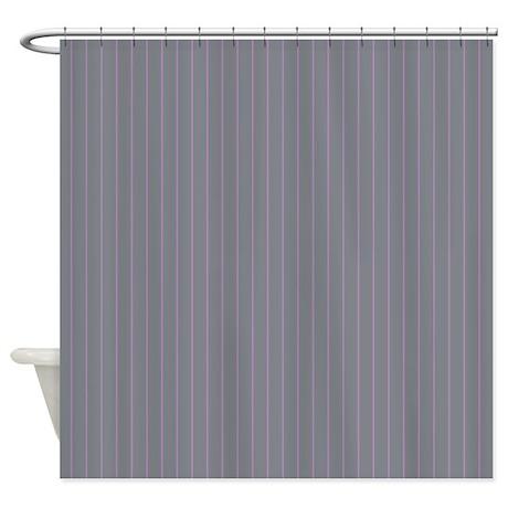 gifts gaat bathroom d cor pinstripe grey purple shower curtain