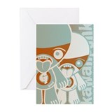 Greedy Mascot HT Greeting Cards (10 Pack)