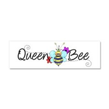 Queen Bee Car Magnet 10 x 3