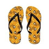 Silly Monkeys Flip Flops - Orange