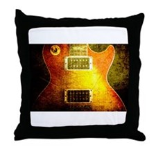 VINTAGE GUITAR Throw Pillow