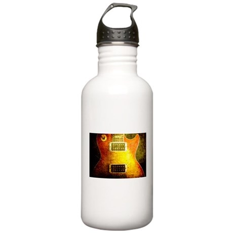 VINTAGE GUITAR Stainless Water Bottle 1.0L